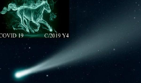 Комета ATLAS может быть предвестником Нибиру