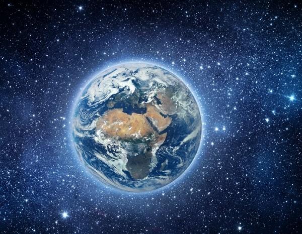 Земля в занимательных числах