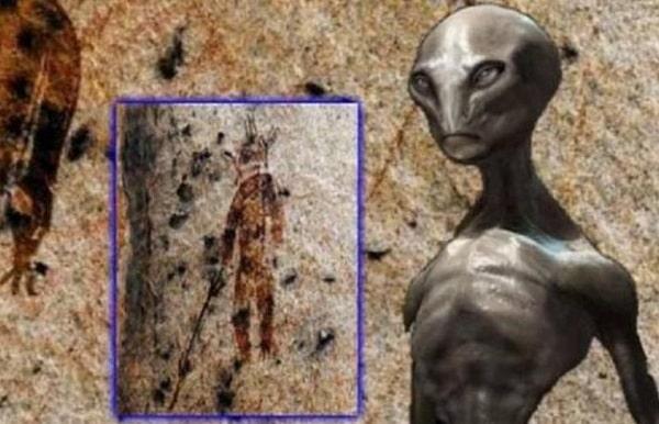 Свидетельства древних контактов людей с пришельцами