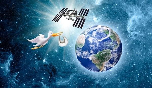 Возможно ли рождение человека в космосе