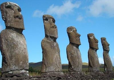 Тобольского мыслителя и статуи острова Пасхи создали рептилоиды