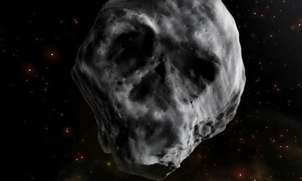 Необычный астероид-череп возвращается
