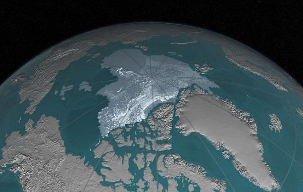 Северный магнитный полюс Земли движется в сторону Сибири