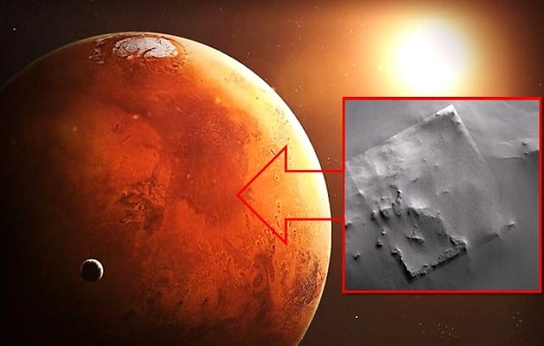 На Марсе зонд НАСА сфотографировал развалины огромного здания