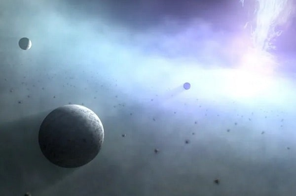 Вокруг огромных черных дыр могут вращаться тысячи планет