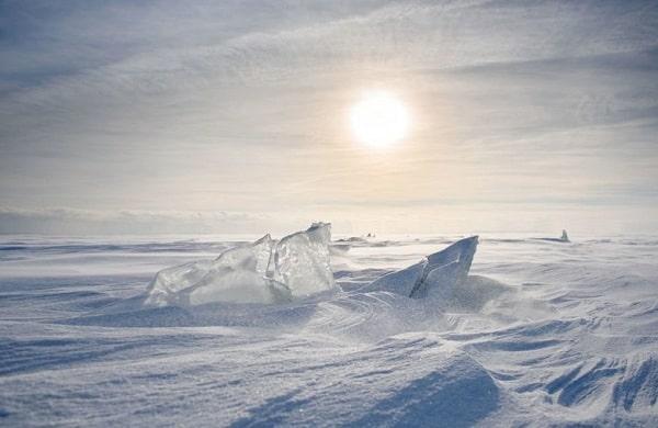 Во льдах Антарктиды найдено вещество с Марса