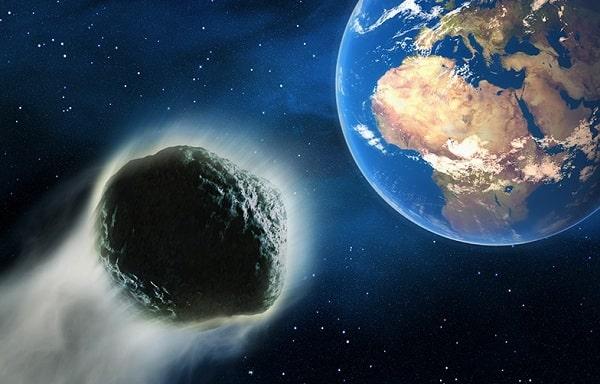 Земле угрожает столкновение с астероидом