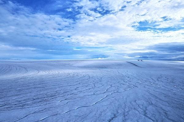 Древний Марс был покрыт льдом, а не реками