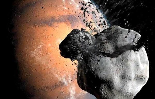 Спутники Марса могут быть обломками давно погибшей луны