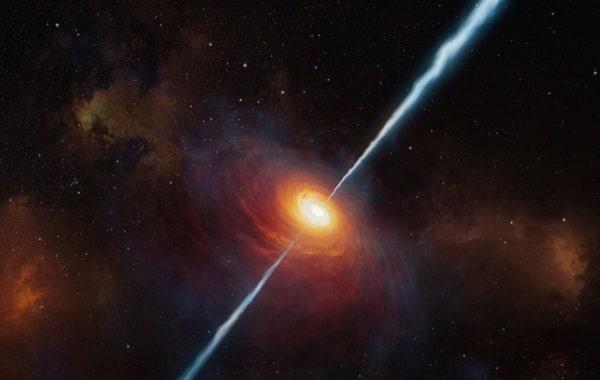 Открыт самый далекий радио-громкий квазар
