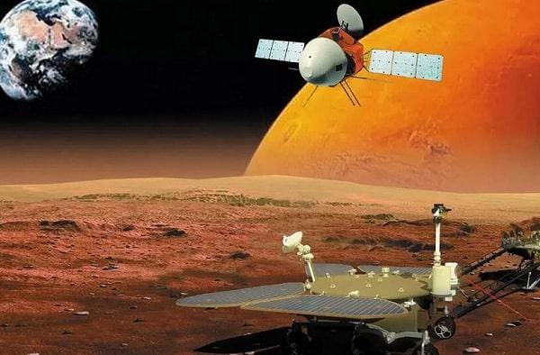 Первые снимки с орбиты Марса от китайского зонда