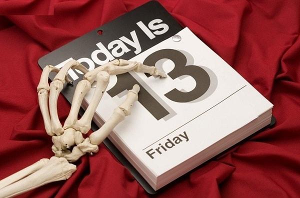 Пятница, 13 - день, приносящий несчастья