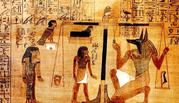 """Интересные факты о древнеегипетской """"Книге Мертвых"""""""