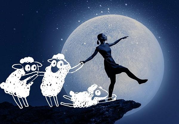 Необычное влияние луны на сон