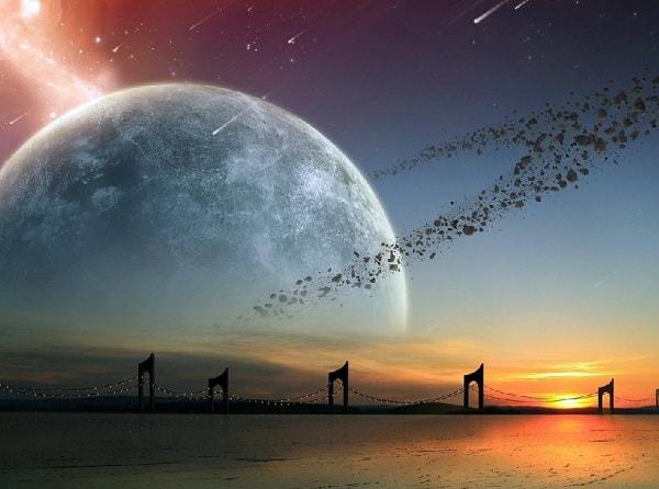 На Землю человек пришел из космоса