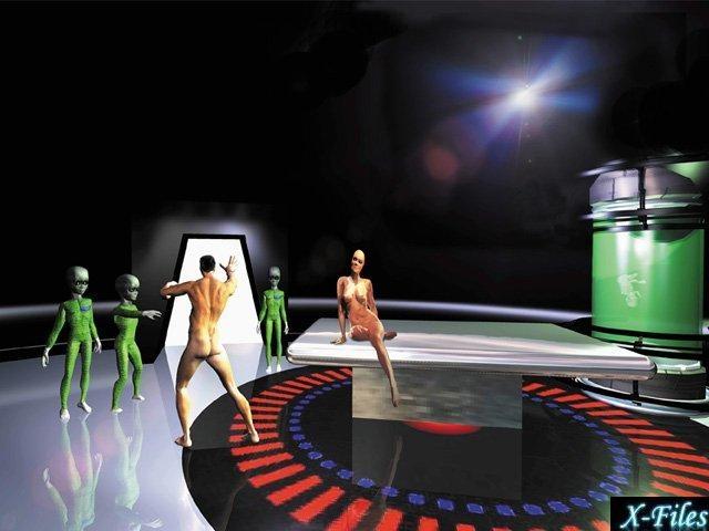 Пришельцы находят людей сексуальными