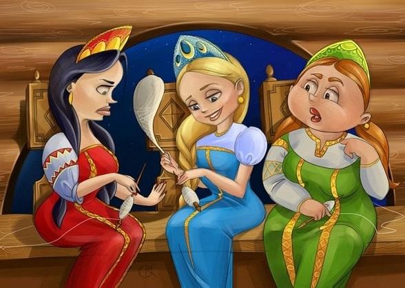 Секс в сказке о царе салтане