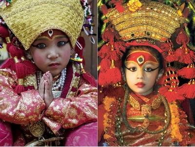 Кумари – непальские живые богини