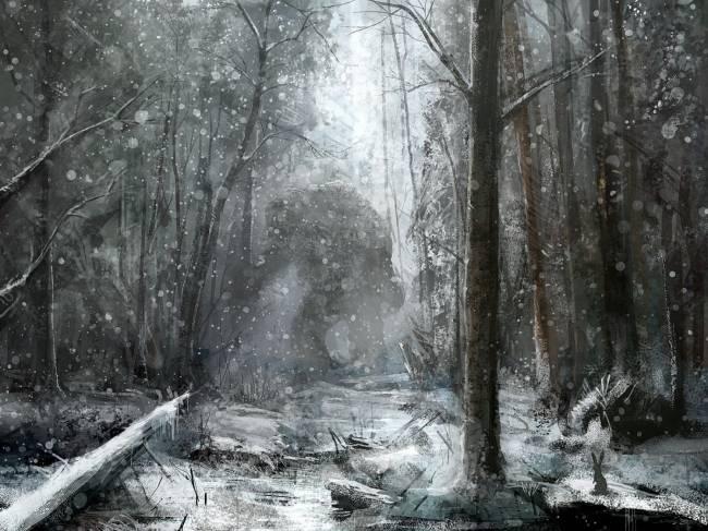 Необычная история о хозяине леса