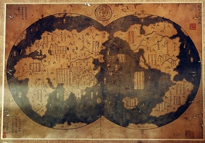 Необычные древние карты: секреты и сюрпризы