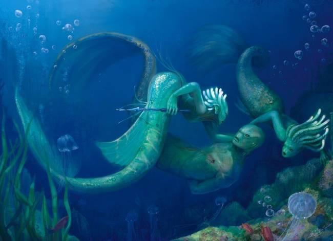 Морская прародина человечества