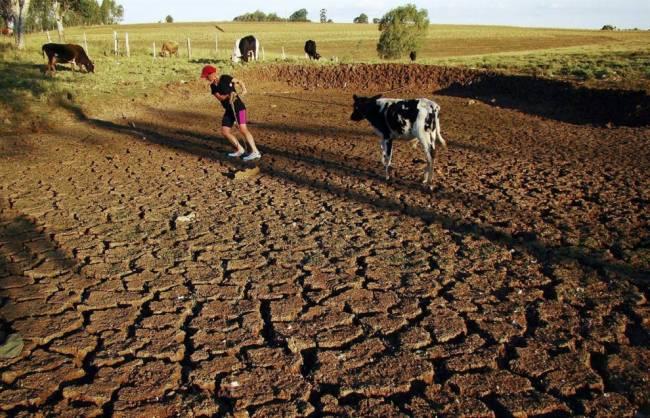 Грядушие катаклизмы на Земле связаны с потеплением