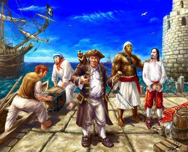 Интересное: семь знаменитых пиратов