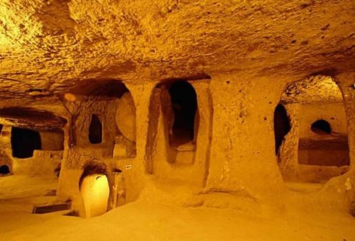 Реальность 12000-летних подземных туннелей