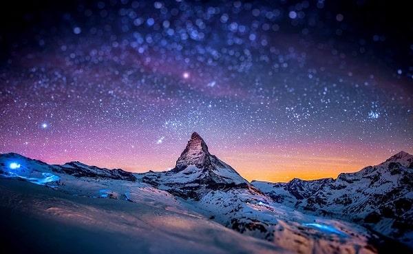 Почему меняется ночной небосвод