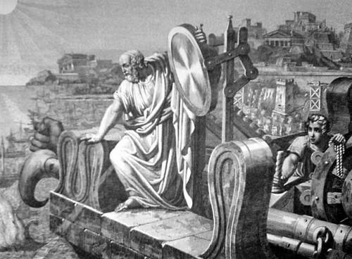 Древнегреческий отец лазерного оружия