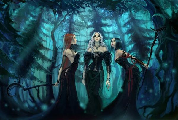 Как проходят шабаши ведьм согласно старинным преданиям
