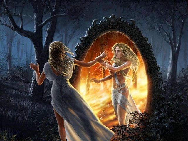 Зеркала – проводники между мирами