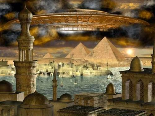 Свидетельства о наблюдении НЛО в древности